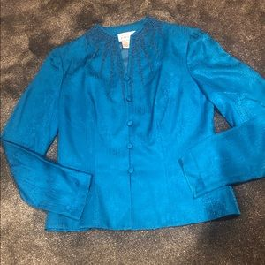Papell vintage Silk top